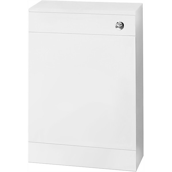 Balterley Orbit 500mm WC Unit with Concealed Cistern - Gloss White