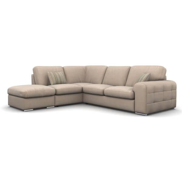 Amethyst Lefthand Corner Sofa - Sand