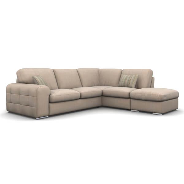 Amethyst Righthand Corner Sofa - Sand