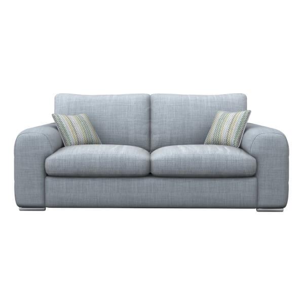 Amethyst 3 Seater Sofa - Sky