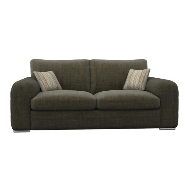 Amethyst 3 Seater Sofa - Brown