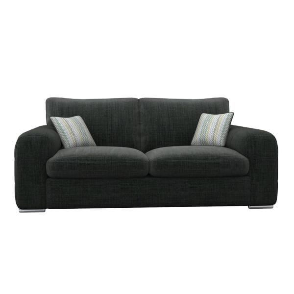 Amethyst 3 Seater Sofa - Charcoal