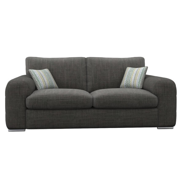 Amethyst 3 Seater Sofa - Slate