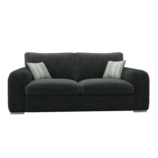 Amethyst 2 Seater Sofa - Charcoal