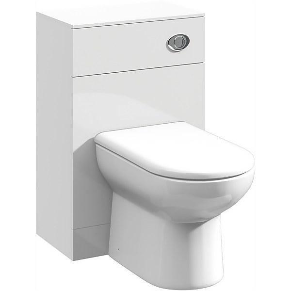 Balterley Orbit 500x330mm WC Unit - Gloss White