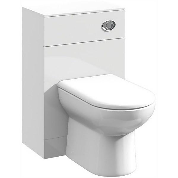 Balterley Orbit 500x300mm WC Unit - Gloss White