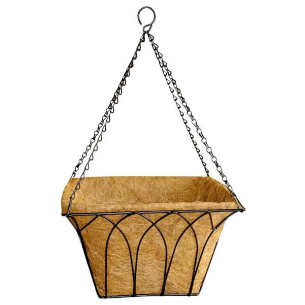 30cm Gothic Square Hanging Basket
