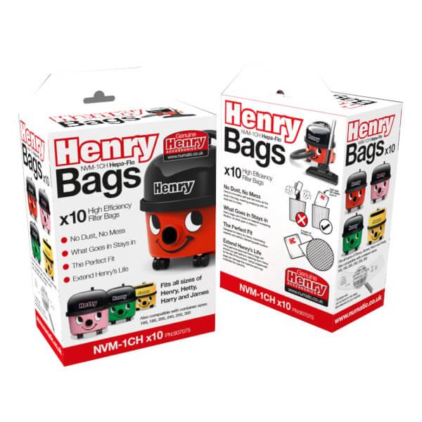 10 Pack Genuine Henry Dust Bags