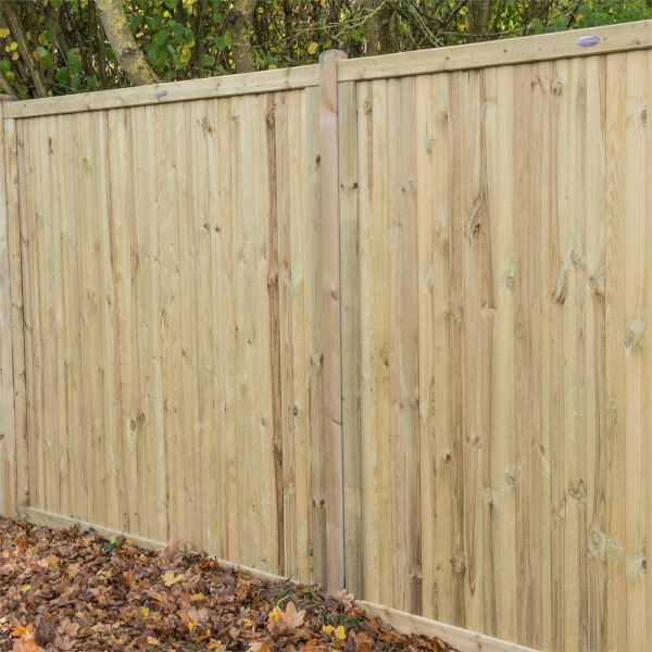 Forest Noise Reduction Fence Panel - 6ft - Pack of 4