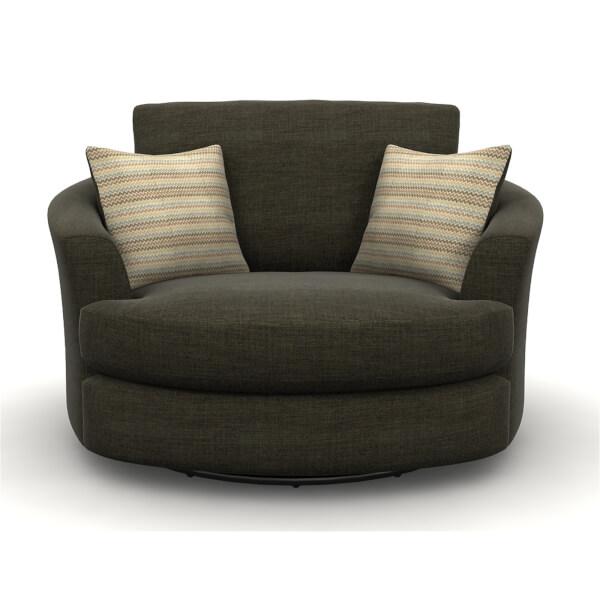 Amethyst Twister Chair - Brown