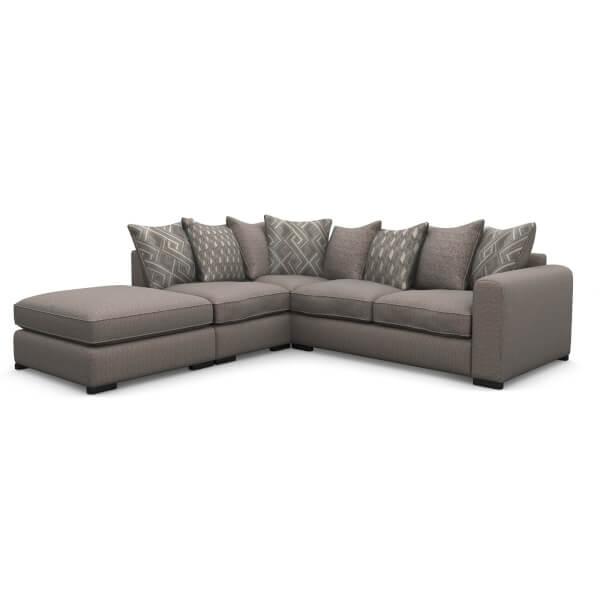 Lewis Lefthand Corner Sofa - Mink