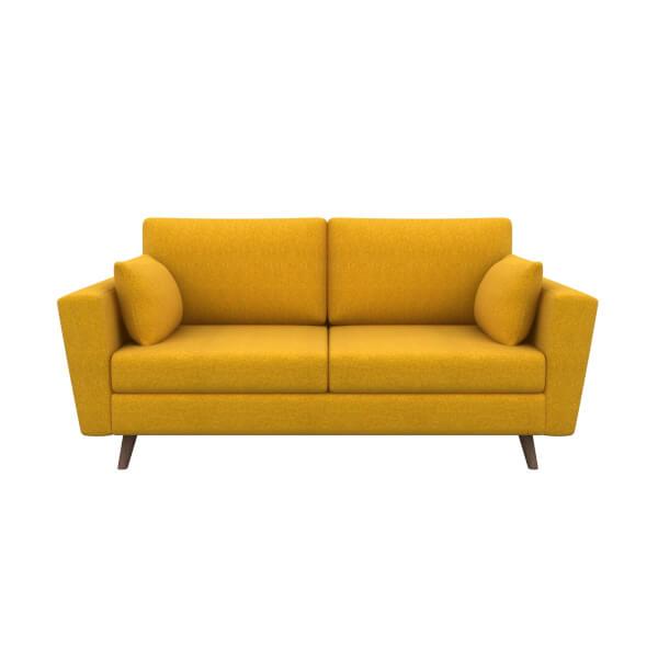 Lucia 3 Seater Sofa - Mustard