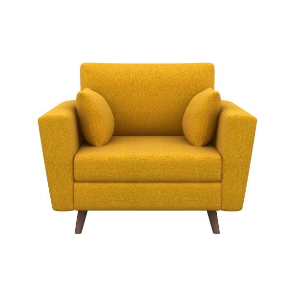 Lucia Cuddle Chair - Mustard