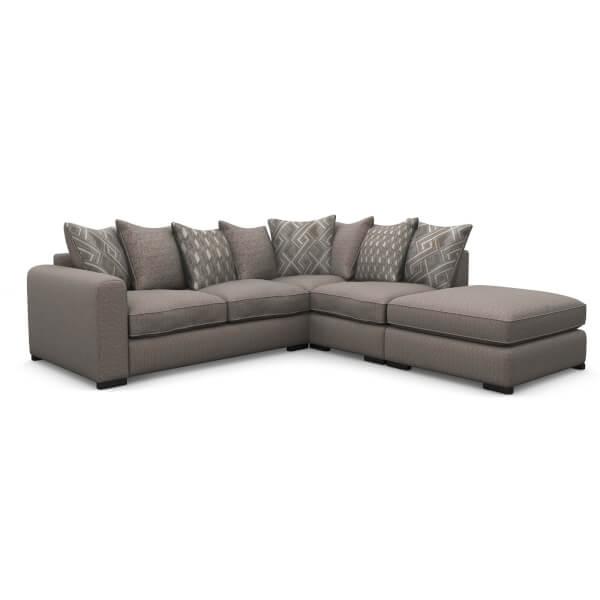 Lewis Righthand Corner Sofa - Mink