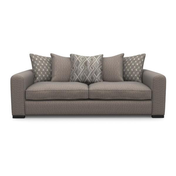 Lewis 3 Seater Sofa - Mink