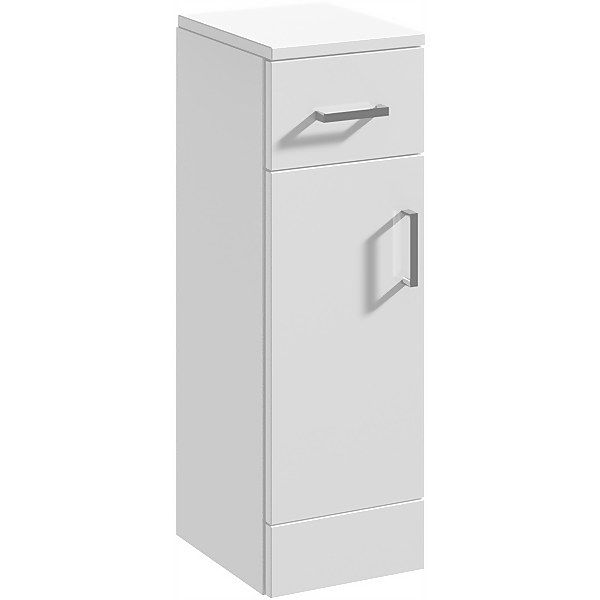 Balterley Orbit 250x300mm Cupboard - Gloss White