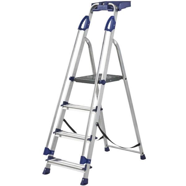 Werner Workstation Step Ladder - 4 Tread