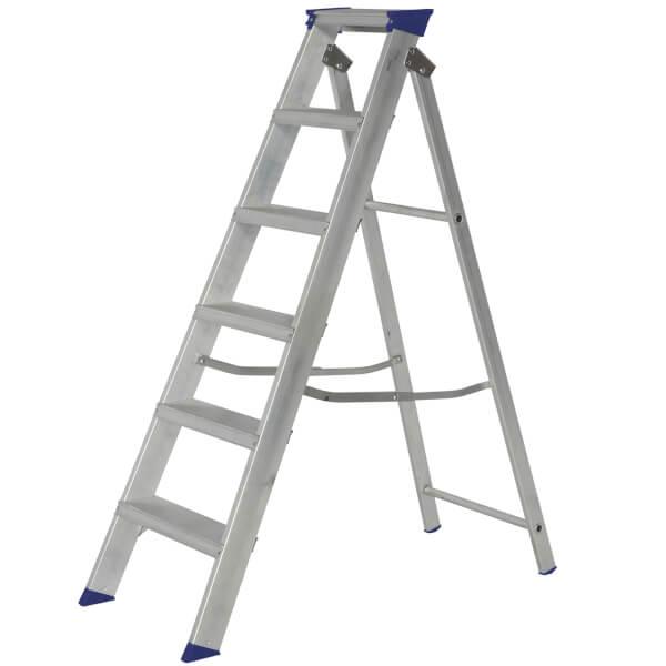 Werner MasterTrade Step Ladder - 6 Tread