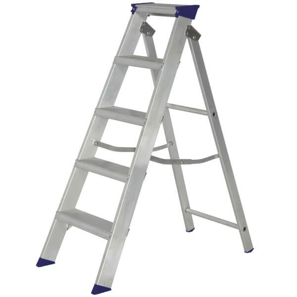 Werner MasterTrade Step Ladder - 5 Tread