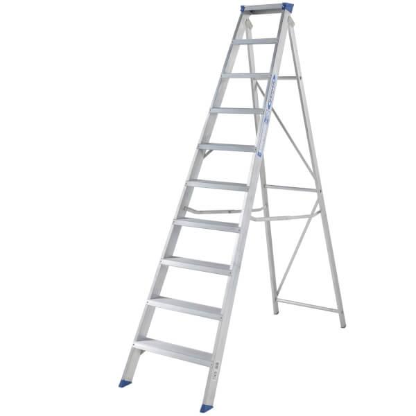 Werner MasterTrade Step Ladder - 10 Tread