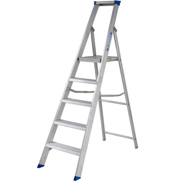 Werner MasterTrade Platform Step Ladder - 5 Tread
