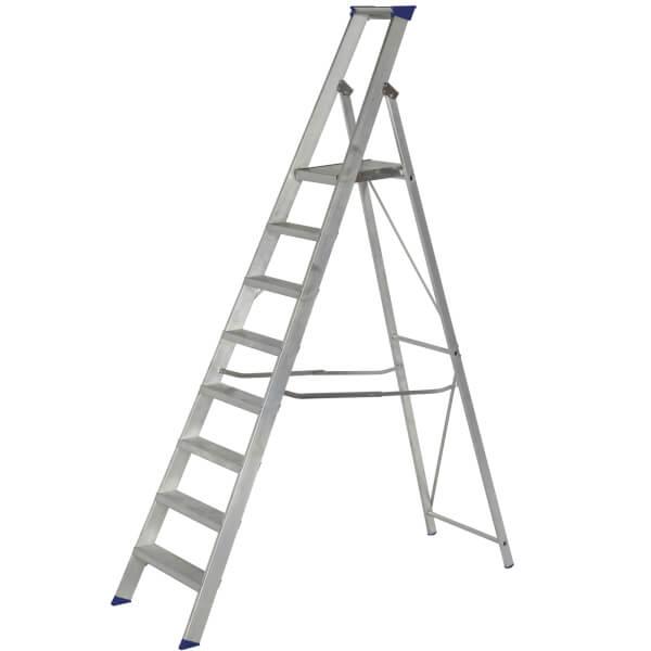 Werner MasterTrade Platform Step Ladder - 8 Tread