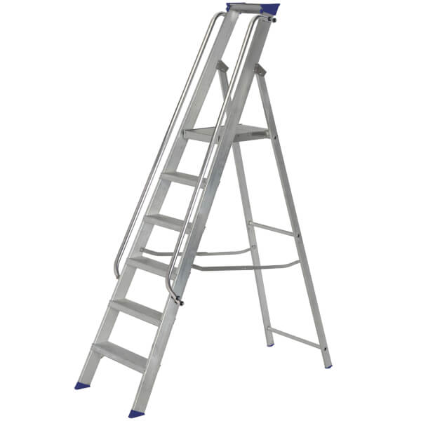 Werner Shop Step Ladder - 6 Tread