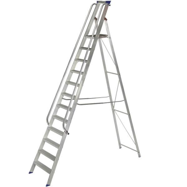 Werner Shop Step Ladder - 12 Tread