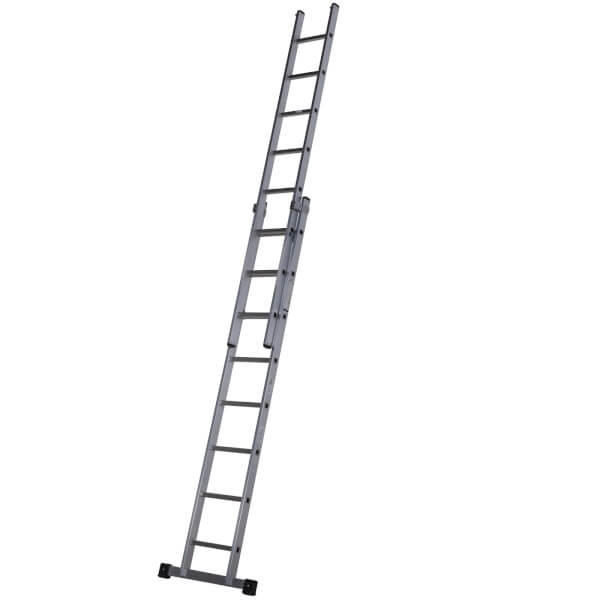 Werner Square Rung Extension Ladder - 2.5m Double