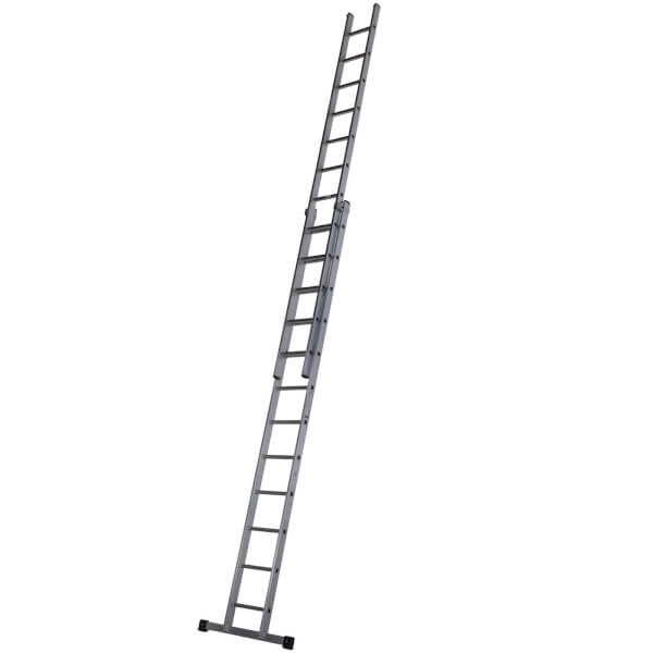 Werner Square Rung Extension Ladder - 3.67m Double