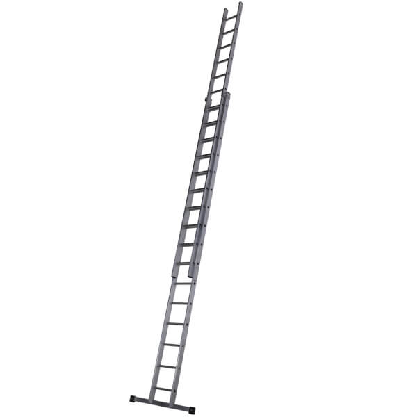 Werner Square Rung Extension Ladder - 4.82m Double