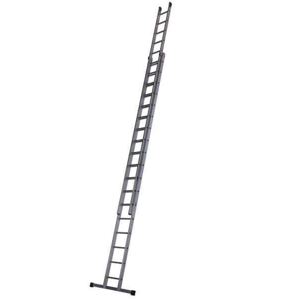 Werner Square Rung Extension Ladder - 5.4m Double
