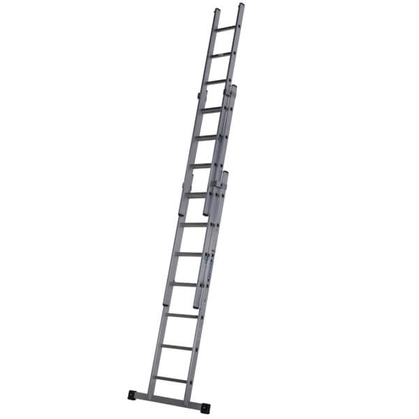 Werner Square Rung Extension Ladder - 2.22m Triple