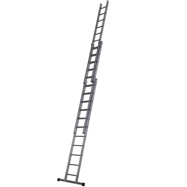 Werner Square Rung Extension Ladder - 3.38m Triple