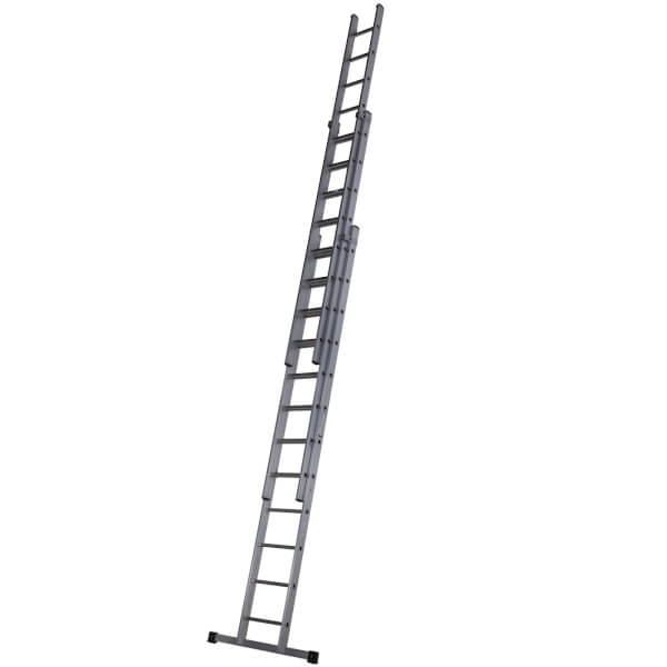 Werner Square Rung Extension Ladder - 3.67m Triple