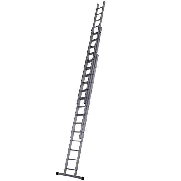 Werner Square Rung Extension Ladder - 4.25m Triple