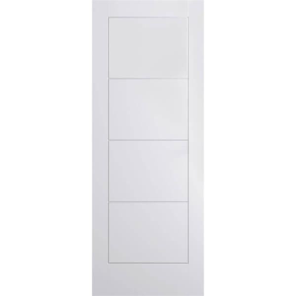 Ladder Internal Primed White 4 Panel Door - 762 x 1981mm