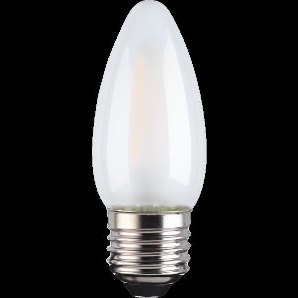 TCP Filament Candle Coat 40W ES Warm Light Bulb