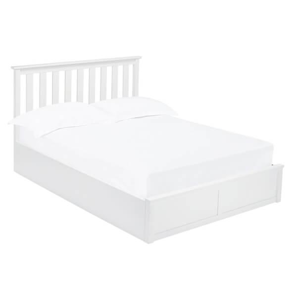 Oxford Kingsize Bed - White