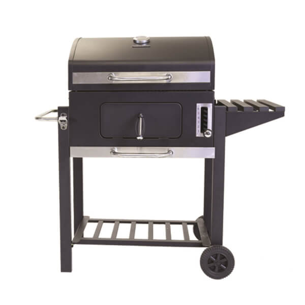 Charles Bentley American Large Portable Charcoal BBQ with 60 x 45cm Cooking Area