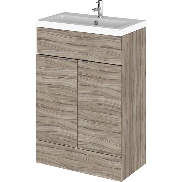 Balterley Dynamic 600mm Vanity Unit with Basin - Driftwood