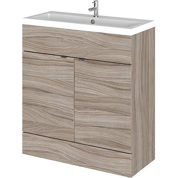 Balterley Dynamic 800mm Vanity Unit with Basin - Driftwood
