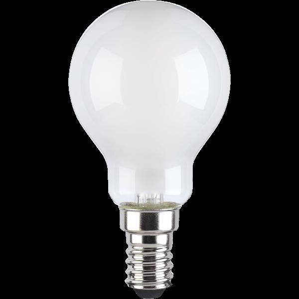 TCP Filament Globe Coat 40W SES Cool Dimmable Light Bulb