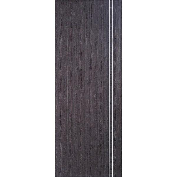 Zanzibar Internal Prefinished Ash Grey Door - 838 x 1981mm
