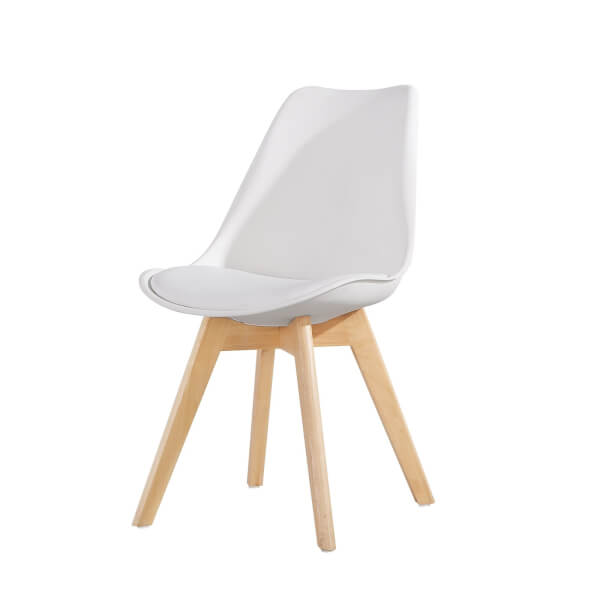 Chloe Dining Chair - Set of 2 - White