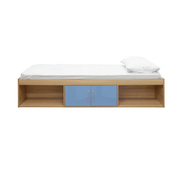 Dakota Cabin Bed Oak - Blue