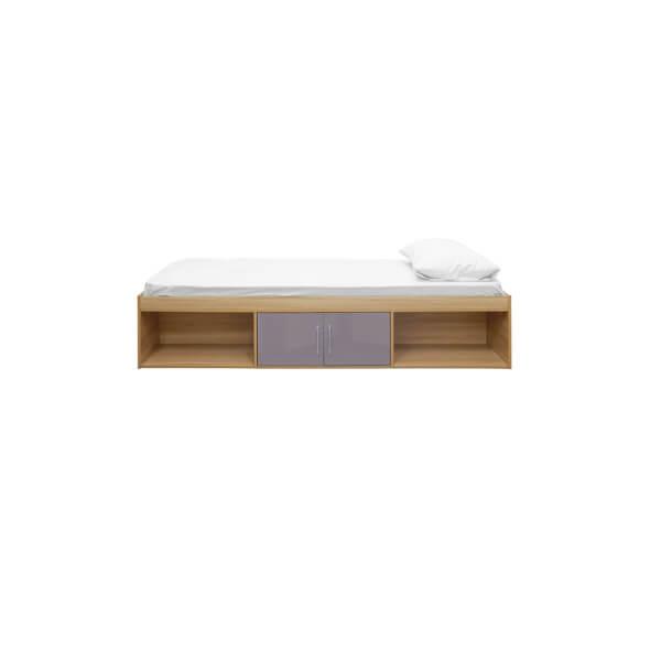 Dakota Cabin Bed Oak - Grey