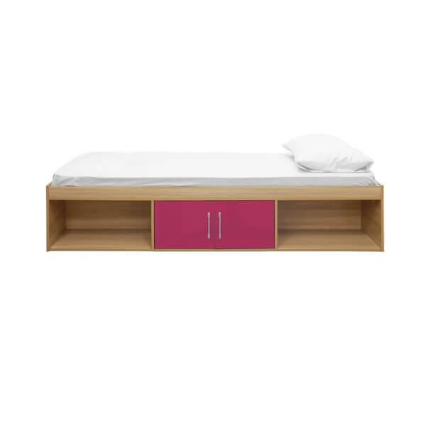 Dakota Cabin Bed Oak - Pink