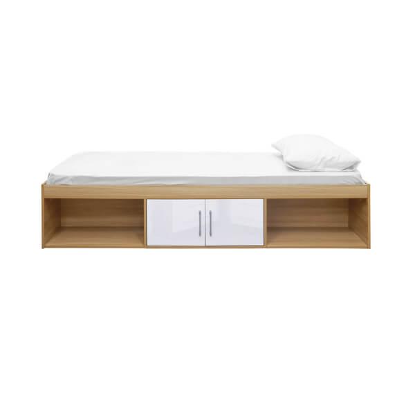 Dakota Cabin Bed Oak - White
