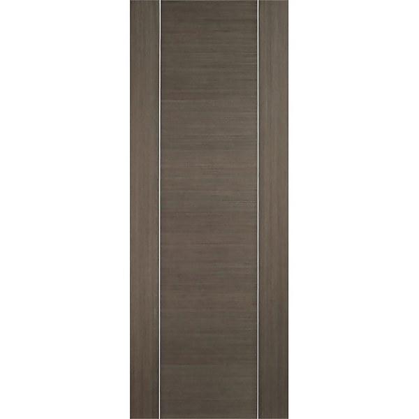 Alcaraz Internal Prefinished Chocolate Grey Door - 686 x 1981mm